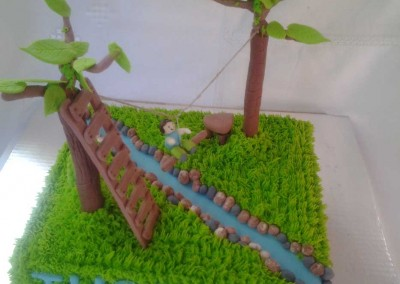 Acrobranch Cake