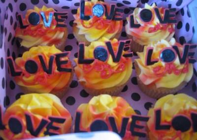 Beatles LOVE Cupcakes