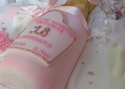 Champagne 18th Birthday Cake