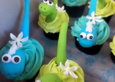 Dinasour Cupcakes