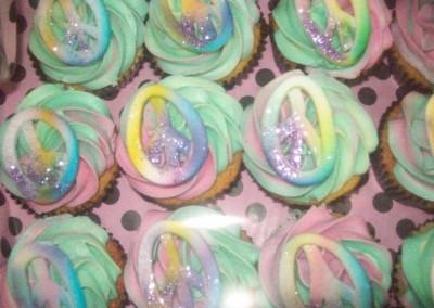 Hippy Cupcakes