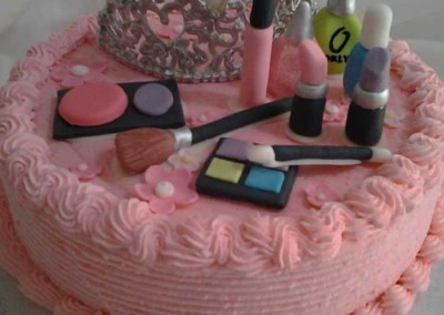 Pamper Party Ice cream Cake