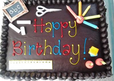 Teachers Birthday Cake