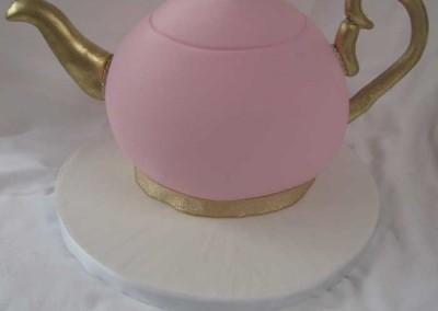 Vintage Tea Party Teapot Cake