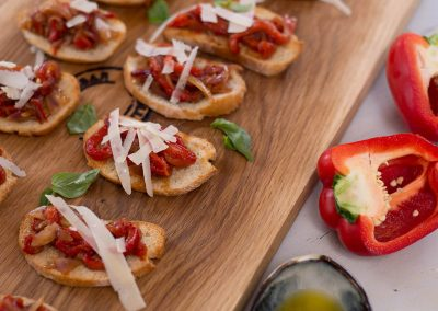 Bruschetta Roasted Red Pepper