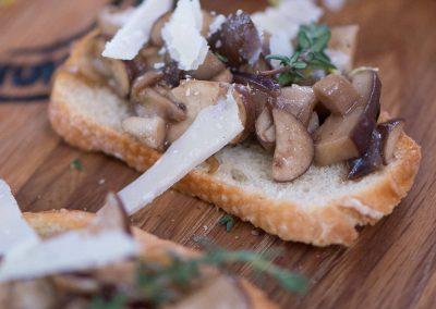Bruschetta Wild Mushroom and Thyme