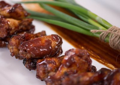 Chicken Wings Sticky BBQ