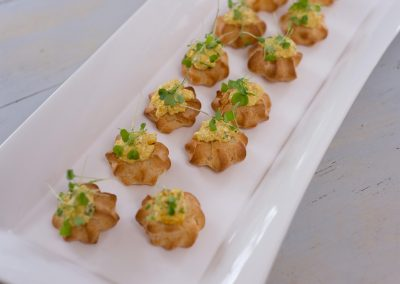 Coronation Chicken Profiteroles