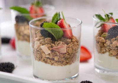 Yogurt and Muesli Cups