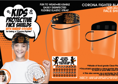 Corona Fighter Black