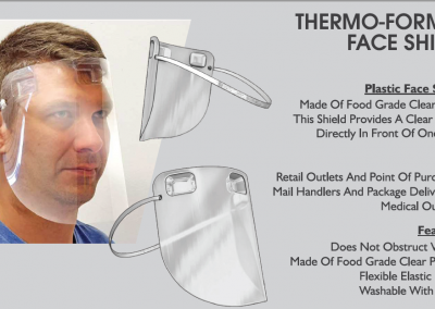 Thermo Formed Face Shield